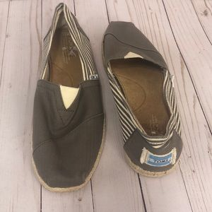 Toms Slip On Espadrille Shoes
